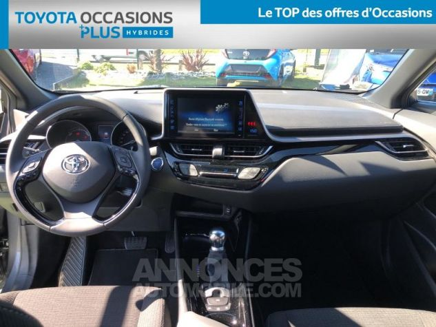 Toyota C-HR 122h Design 2WD E-CVT RC18 BI TON GRIS ATLAS Occasion - 4