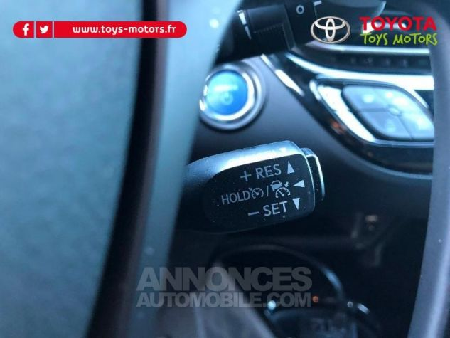 Toyota C-HR 122h Distinctive 2WD E-CVT 209 NOIR Neuf - 15