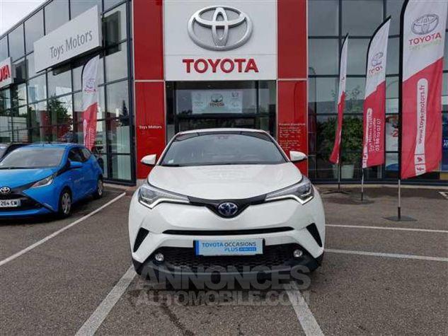 Toyota C-HR 122h Distinctive 2WD E-CVT 070 BLANC NACRE Occasion - 2