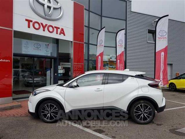 Toyota C-HR 122h Distinctive 2WD E-CVT 070 BLANC NACRE Occasion - 4