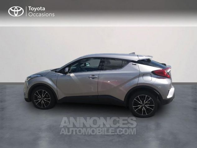Toyota C-HR 122h Distinctive 2WD E-CVT Gris Clair Occasion - 2