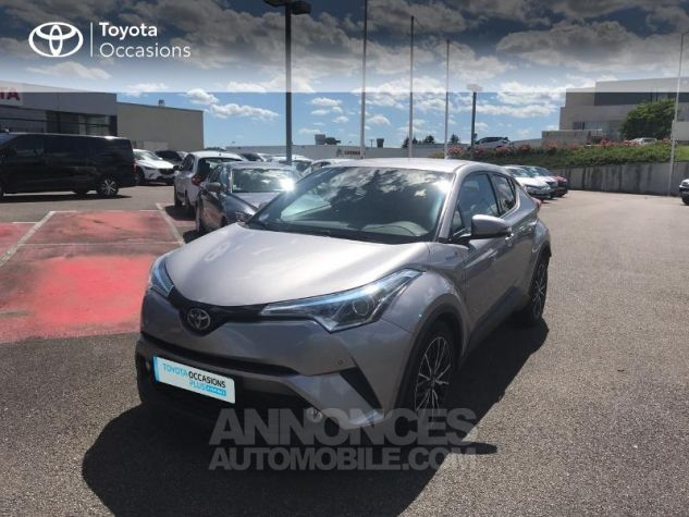 Toyota C-HR 122h Distinctive 2WD E-CVT Gris Clair Occasion - 19