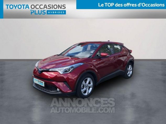 Toyota C-HR 122h Dynamic 2WD E-CVT ROUGE ALLURE Occasion - 0