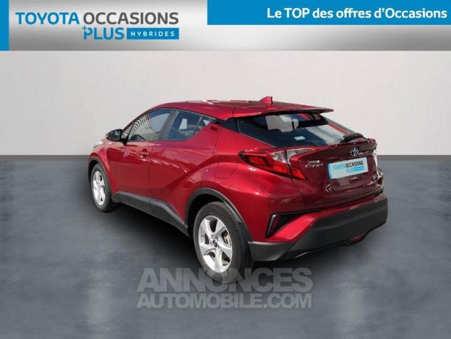 Toyota C-HR 122h Dynamic 2WD E-CVT ROUGE ALLURE Occasion - 1