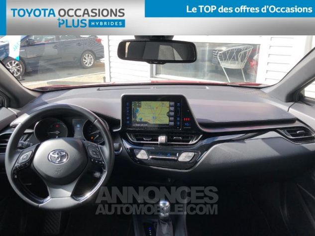 Toyota C-HR 122h Dynamic 2WD E-CVT ROUGE ALLURE Occasion - 4