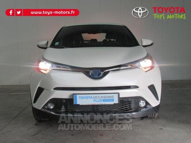 Toyota C-HR 122h Dynamic 2WD E-CVT BLANC NACRE Occasion - 3