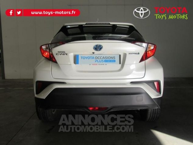Toyota C-HR 122h Dynamic 2WD E-CVT BLANC NACRE Occasion - 4