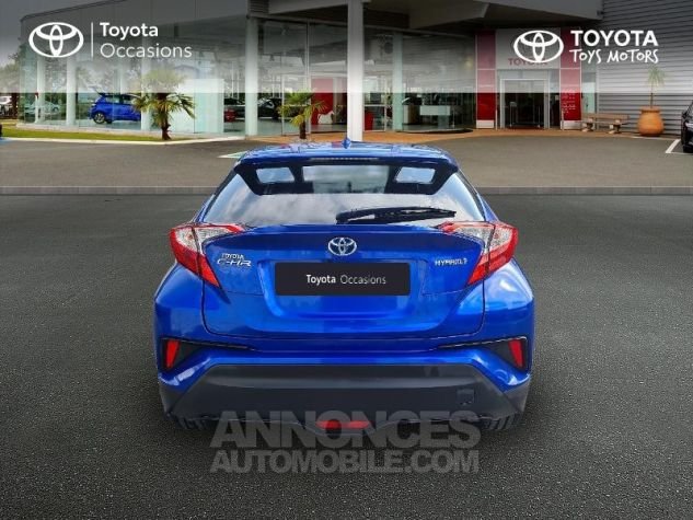 Toyota C-HR 122h Edition 2WD E-CVT Bleu F Occasion - 3