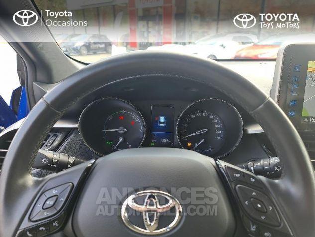 Toyota C-HR 122h Edition 2WD E-CVT Bleu F Occasion - 12