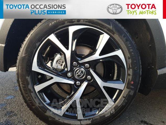 Toyota C-HR 122h Edition 2WD E-CVT MC19 Blanc Nacre Occasion - 3