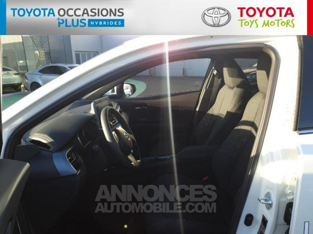 Toyota C-HR 122h Edition 2WD E-CVT MC19 Blanc Nacre Occasion - 12