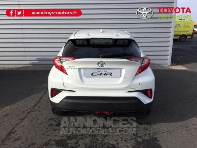 Toyota C-HR 122h Edition 2WD E-CVT RC18 BLANC PUR Occasion - 9