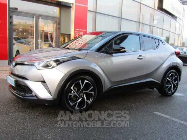 Toyota C-HR 122h Graphic 2WD E-CVT Gris Occasion - 0