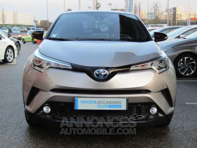 Toyota C-HR 122h Graphic 2WD E-CVT Gris Occasion - 1
