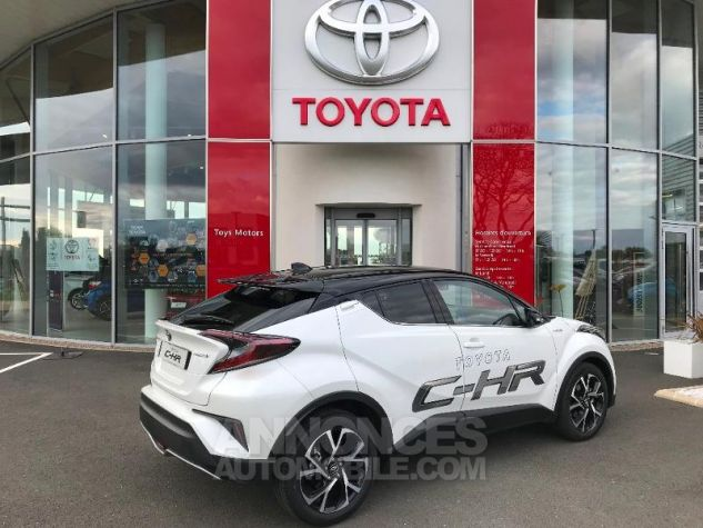 Toyota C-HR 122h Graphic 2WD E-CVT BI TON BLANC NACRE Occasion - 0