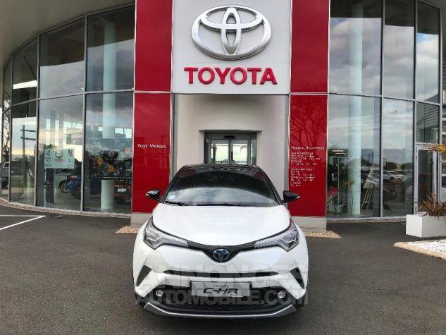 Toyota C-HR 122h Graphic 2WD E-CVT BI TON BLANC NACRE Occasion - 1