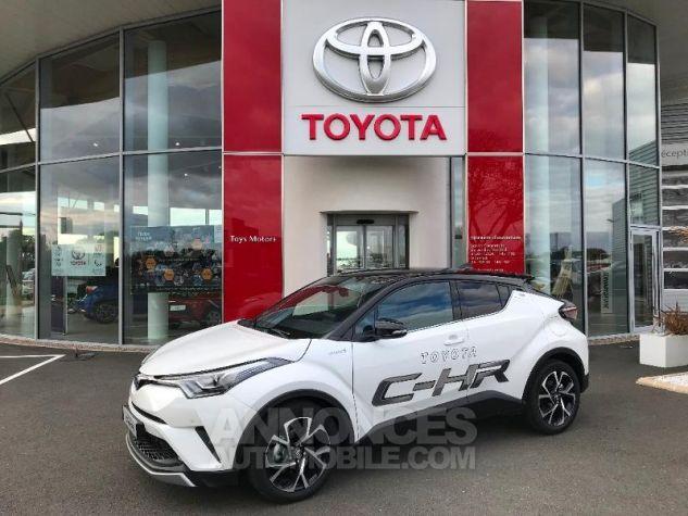 Toyota C-HR 122h Graphic 2WD E-CVT BI TON BLANC NACRE Occasion - 2