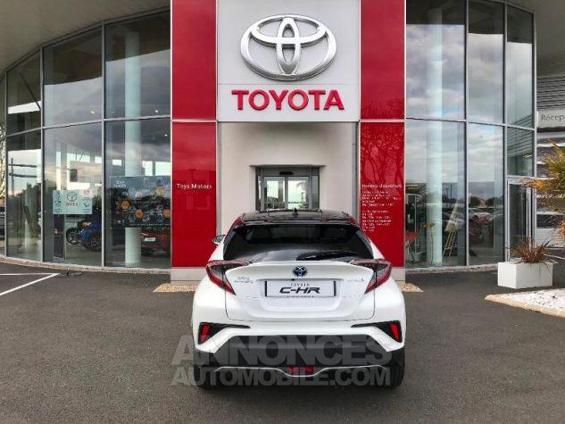 Toyota C-HR 122h Graphic 2WD E-CVT BI TON BLANC NACRE Occasion - 3