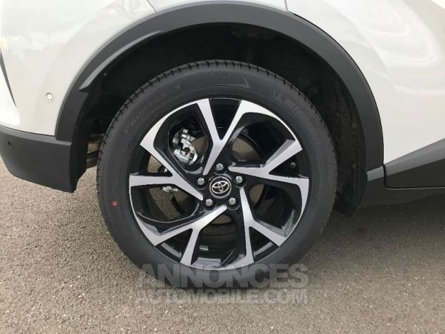 Toyota C-HR 122h Graphic 2WD E-CVT BI TON BLANC NACRE Occasion - 4