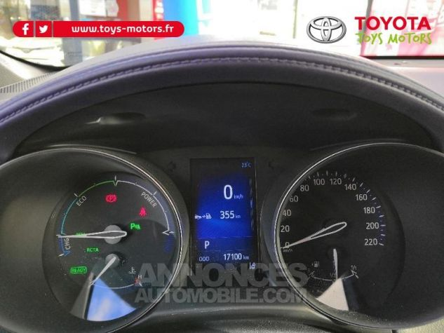 Toyota C-HR 122h Graphic 2WD E-CVT Gris Occasion - 5