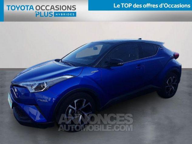 Toyota C-HR 122h Graphic 2WD E-CVT Bleu Clair Occasion - 0