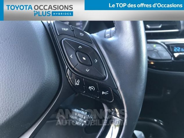Toyota C-HR 122h Graphic 2WD E-CVT GRIS C Occasion - 9
