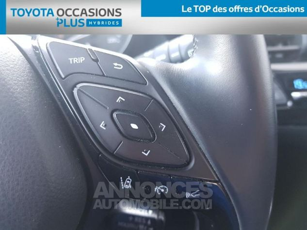 Toyota C-HR 122h Graphic 2WD E-CVT Bleu Nebula Occasion - 16