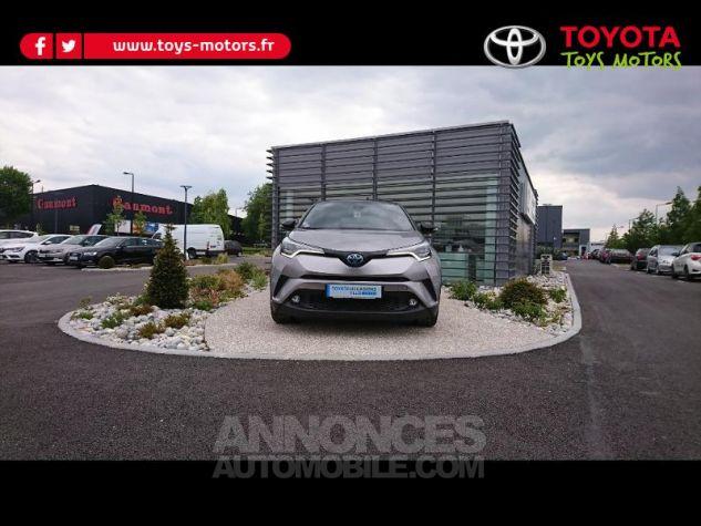 Toyota C-HR 122h Graphic 2WD E-CVT Bi Ton Gris Platinium Occasion - 0