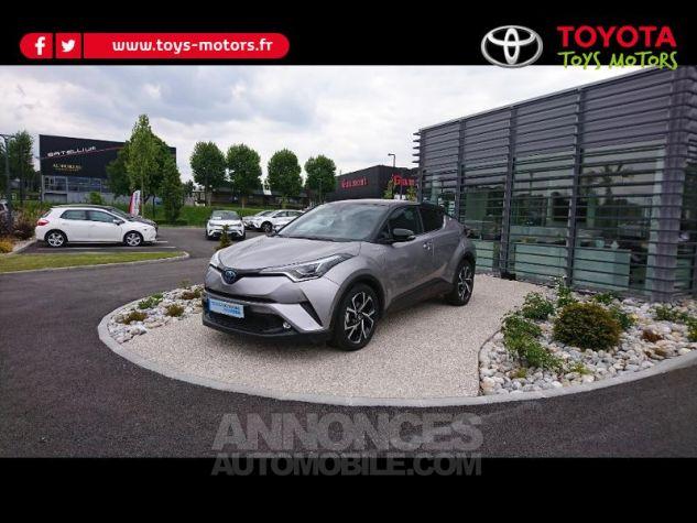 Toyota C-HR 122h Graphic 2WD E-CVT Bi Ton Gris Platinium Occasion - 1