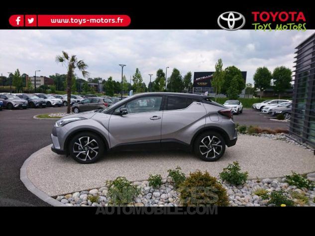 Toyota C-HR 122h Graphic 2WD E-CVT Bi Ton Gris Platinium Occasion - 2