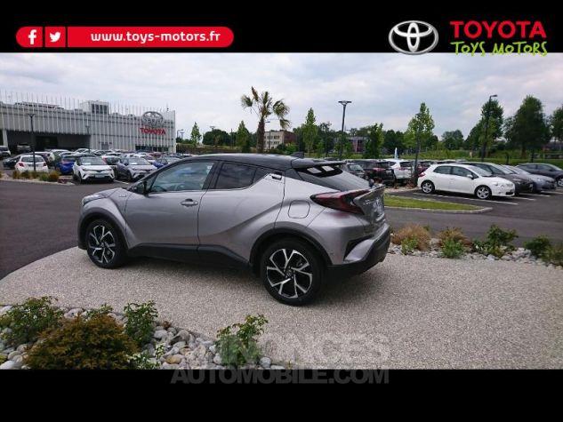 Toyota C-HR 122h Graphic 2WD E-CVT Bi Ton Gris Platinium Occasion - 3