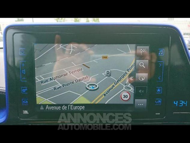 Toyota C-HR 122h Graphic 2WD E-CVT Bi Ton Gris Platinium Occasion - 11