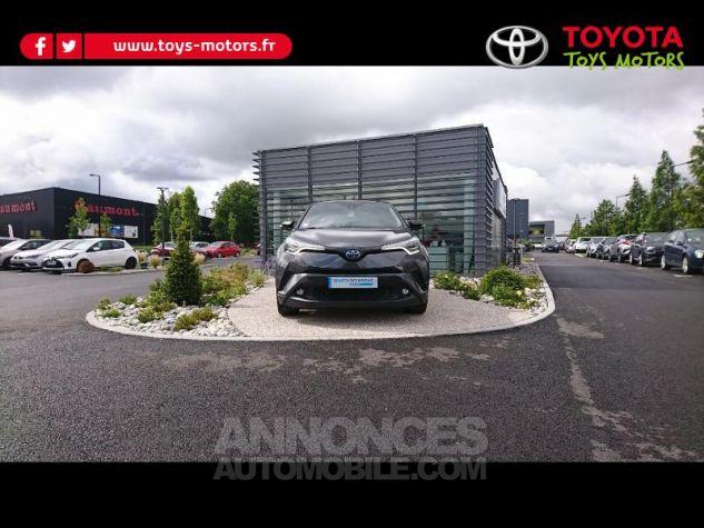 Toyota C-HR 122h Graphic 2WD E-CVT Bi Ton Gris Atlas Occasion - 0
