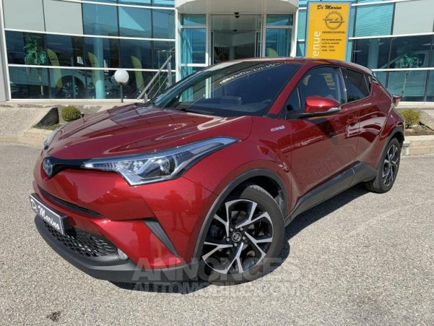 Toyota C-HR 1.8 HYBRIDE 122 EDITION Rouge Occasion - 0