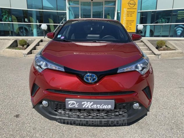 Toyota C-HR 1.8 HYBRIDE 122 EDITION Rouge Occasion - 12