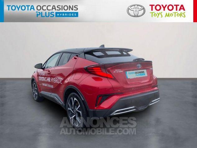 Toyota C-HR 184h Collection Bi Ton Rouge Intense Noir Occasion - 1