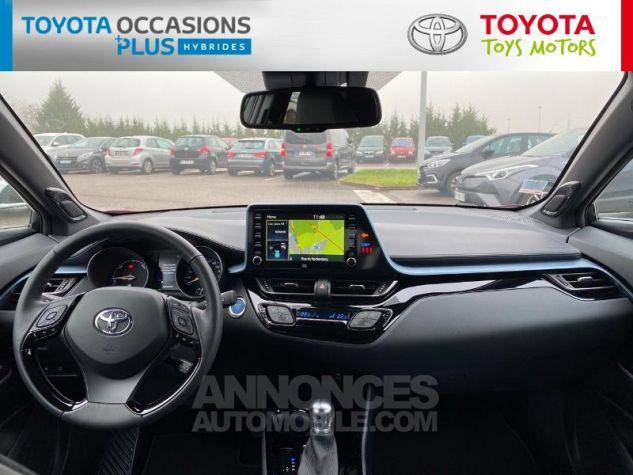 Toyota C-HR 184h Collection Bi Ton Rouge Intense Noir Occasion - 3