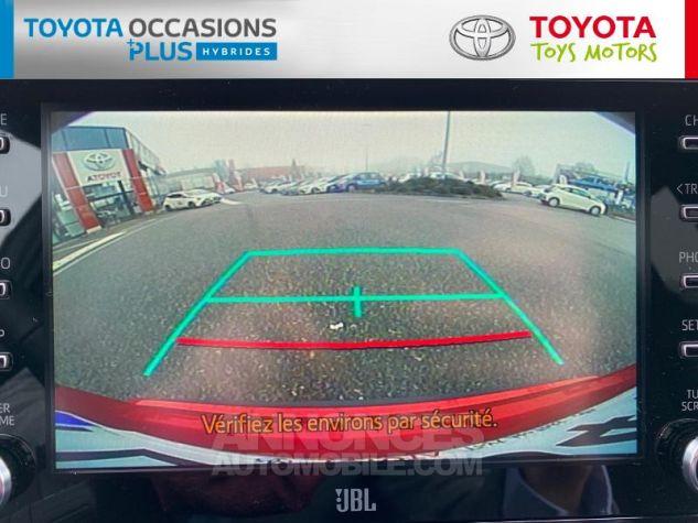 Toyota C-HR 184h Collection Bi Ton Rouge Intense Noir Occasion - 5