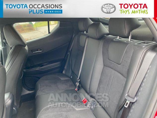 Toyota C-HR 184h Collection Bi Ton Rouge Intense Noir Occasion - 9