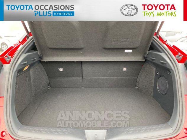 Toyota C-HR 184h Collection Bi Ton Rouge Intense Noir Occasion - 10