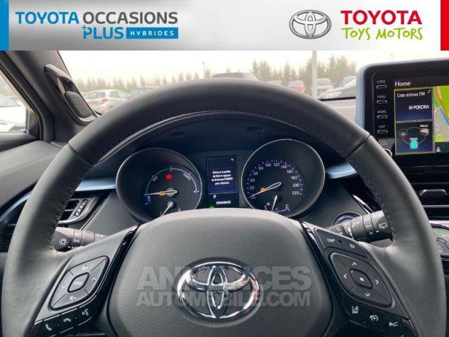 Toyota C-HR 184h Collection Bi Ton Rouge Intense Noir Occasion - 13