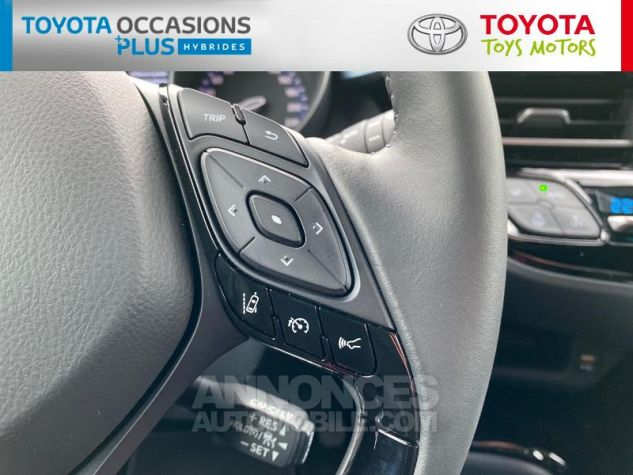 Toyota C-HR 184h Collection Bi Ton Rouge Intense Noir Occasion - 15