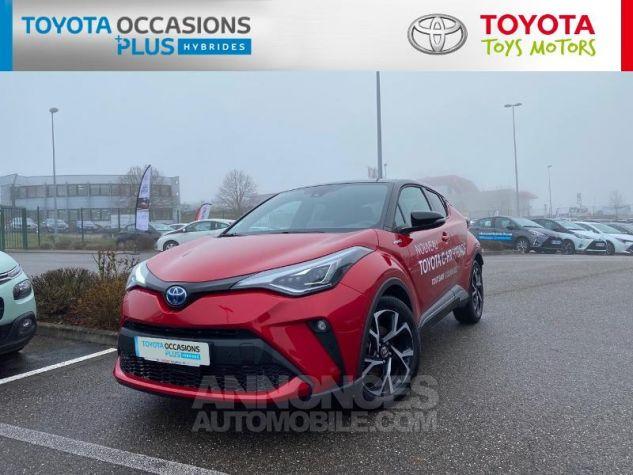 Toyota C-HR 184h Collection Bi Ton Rouge Intense Noir Occasion - 19