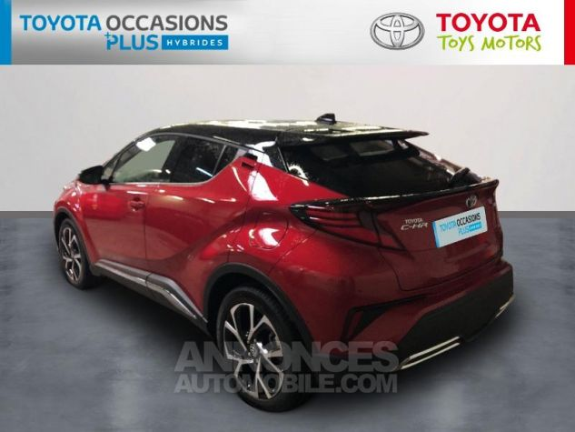 Toyota C-HR 184h Collection 2WD E-CVT MC19 Bi Ton Rouge Intense Noir Occasion - 1