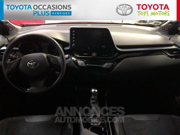 Toyota C-HR 184h Collection 2WD E-CVT MC19 Bi Ton Rouge Intense Noir Occasion - 4