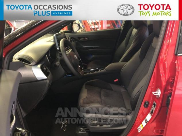 Toyota C-HR 184h Collection 2WD E-CVT MC19 Bi Ton Rouge Intense Noir Occasion - 12