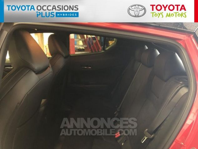 Toyota C-HR 184h Collection 2WD E-CVT MC19 Bi Ton Rouge Intense Noir Occasion - 13
