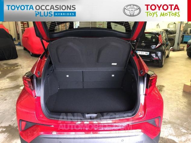 Toyota C-HR 184h Collection 2WD E-CVT MC19 Bi Ton Rouge Intense Noir Occasion - 14