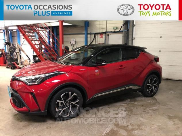 Toyota C-HR 184h Collection 2WD E-CVT MC19 Bi Ton Rouge Intense Noir Occasion - 17
