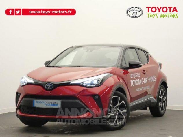 Toyota C-HR 184h Collection 2WD E-CVT MC19 Bi Ton Rouge Intense Noir Occasion - 0